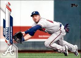 Amazon.com: 2020 Topps #482 Adam Duvall Atlanta Braves MLB Baseball Trading  Card: Collectibles & Fine Art