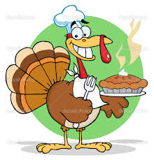 Funny Thanksgiving Turkey Clip Art free image